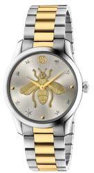 G-Timeless Bee Bracelet Watch, 38mm