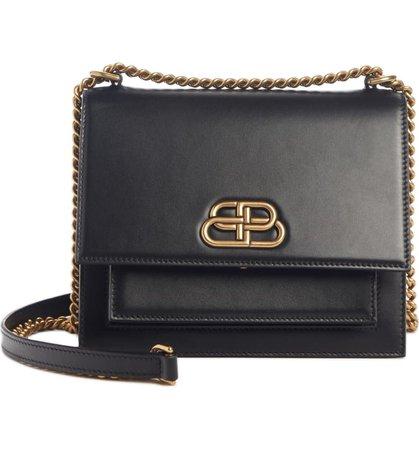 Balenciaga Sharp Leather Shoulder Bag | Nordstrom