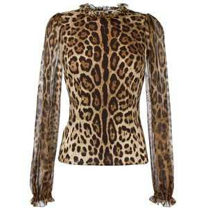 Dolce & Gabbana leopard print blouse Women Clothing