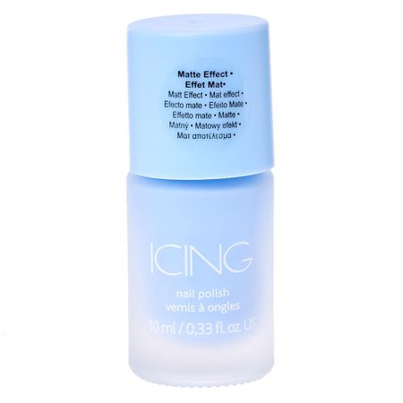 Sorbet Blue Matte Nail Polish | Icing US