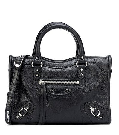 Classic City XS leather tote