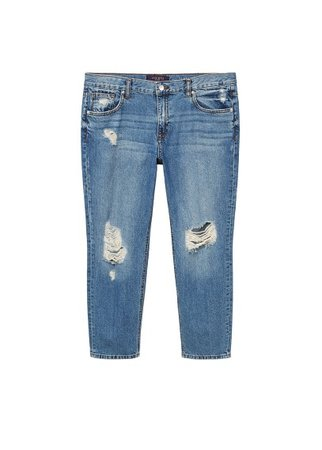 Violeta BY MANGO Girlfriend Claudia jeans