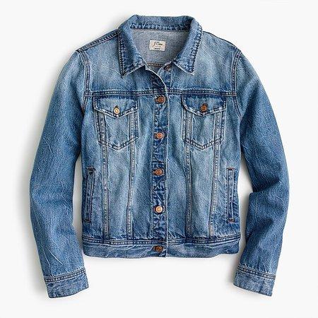 J.Crew: Classic Denim Jacket For Women
