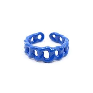 Mini Chain Ring, Paris Blue – monchermoi