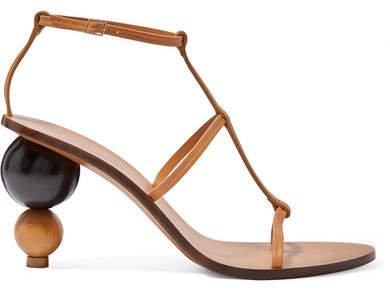 Eden Leather Sandals - Tan