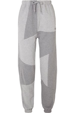 adidas Originals | + Daniëlle Cathari patchwork cotton-terry track pants | NET-A-PORTER.COM