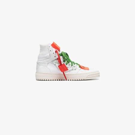 white Off Court 3.0 leather sneakers
