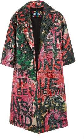 Libertine A Dream For Winter Printed Jacquard Coat