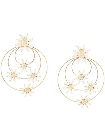 Rosantica Daisy faux-pearl Earrings - Farfetch