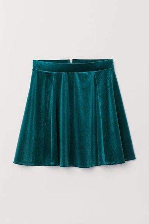 Circle Skirt - Green