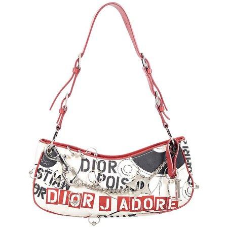 Multicolor Christian Dior Printed Shoulder Bag For Sale at 1stdibs