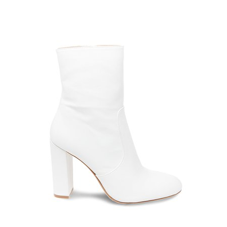Editor Ankle Boot White