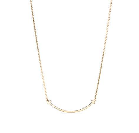 Tiffany & Co. Smile Pendant 18k Gold