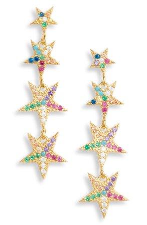 Karen London Falling Star Drop Earrings   Nordstrom