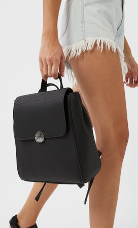 Backpack with closure - bags and rucksacks for women | Stradivarius Germany
