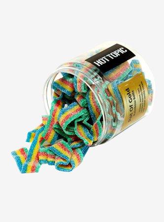 Rainbow Sour Candy Belts