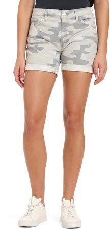 Pixie Cuffed Denim Shorts