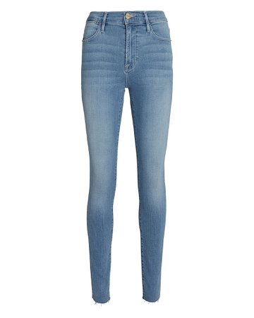 FRAME Le High Rise Skinny Jeans | INTERMIX®