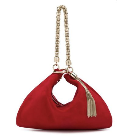red bag Jimmy Choo