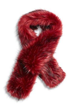 Gucci Faux Fur Wrap