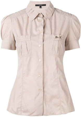 Pre-Owned button-down shirt