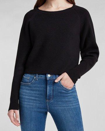 Boxy Crew Neck Sweater