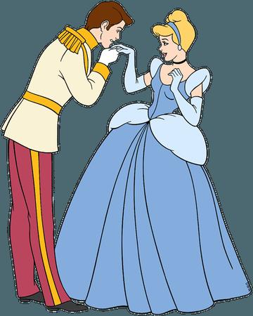 cinderella and prince charming disney