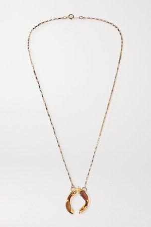 Gold Flashback July 2012 gold-plated necklace | Alighieri | NET-A-PORTER