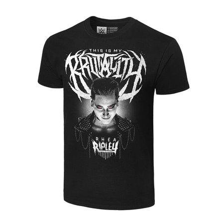 "Rhea Ripley ""This Is My Brutality"" Authentic T-Shirt - WWE US"