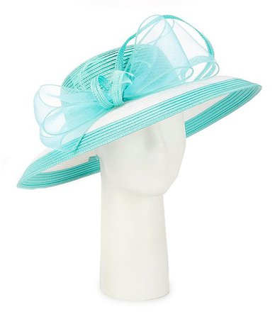 Giovannio Two Tone Lampshade Derby Hat | Dillard's