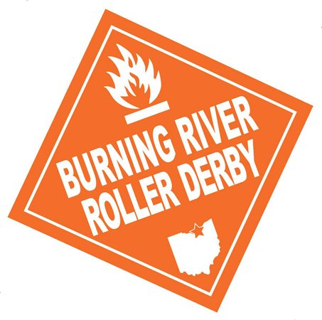 roller derby text orange and black - Google Search