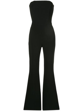 Isabel Sanchis Stretch Skinny Flare Jumpsuit - Farfetch