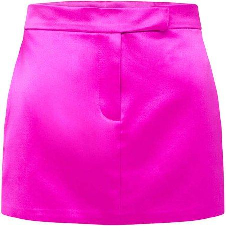 Alex Perry Jacks Cotton-Silk Mini Skirt