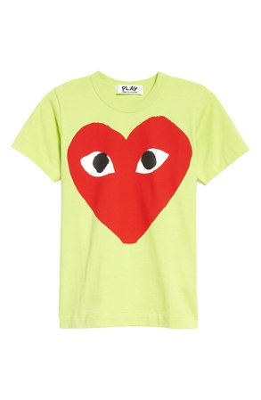 Comme des Garçons PLAY Graphic Tee   Nordstrom