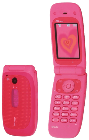 Hot Pink Flip Phone Barbie Filler