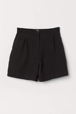 Twill Shorts - Black
