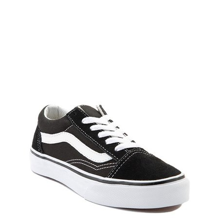 Vans Old Skool Skate Shoe - Little Kid - Black | Journeys