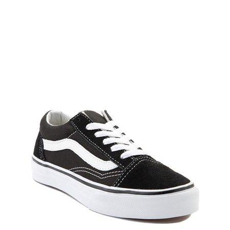 Vans Old Skool Skate Shoe - Little Kid - Black | Journeys