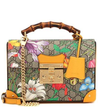 Padlock Gg Flora Shoulder Bag   Gucci - Mytheresa