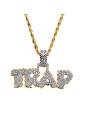 Iced Out Chain- Trap