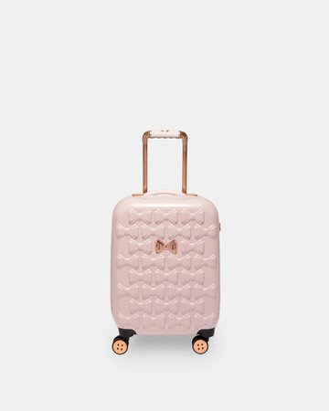 Bow detail small suitcase - Pink | Bags | Ted Baker UK