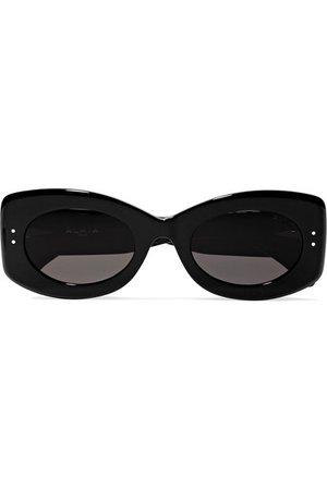 Alaïa | Square-frame studded acetate sunglasses | NET-A-PORTER.COM