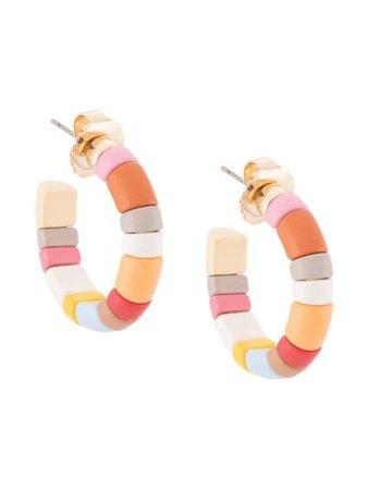 Roxanne Assoulin The Chubbies Hoop Earrings - Farfetch