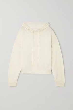 Linosa Cashmere Hoodie - Off-white