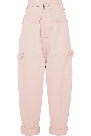 Isabel Marant   Inny cotton tapered pants   NET-A-PORTER.COM
