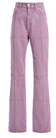 lilac purple jeans
