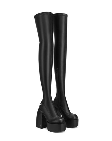 JUICY BLACK boots - Naked Wolfe