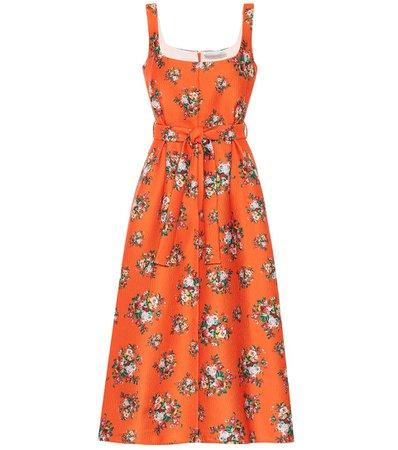 Emilia Wickstead - Shaina floral midi dress | Mytheresa
