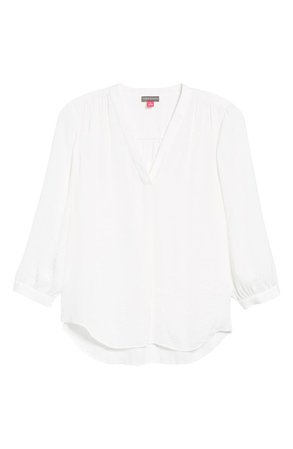 Vince Camuto Rumple Fabric Blouse | Nordstrom