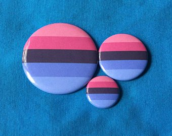 Omnisexual Pride Flag Pin Badge Pinback Button 1 Pin | Etsy